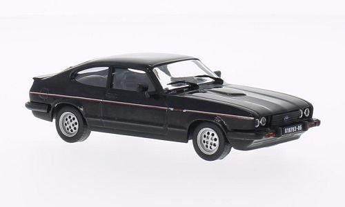 Ford Capri (MK III) 2.8i, schwarz, 1982, Modellauto, Fertigmodell, SpecialC.-61 1:43
