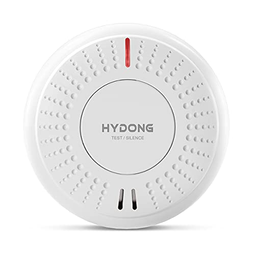 Smoke Alarm 10 Year Battery Operated Photoelectric Smoke Detector Fire...