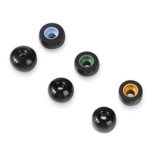 3 pares de almohadillas de espuma viscoelástica para Jabra Elite 65t / Active 65t / Sport para Samsung Gear IconX/Galaxy Buds (S+M+L)