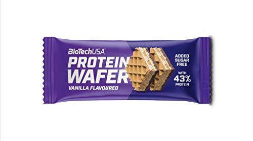 5 x Biotech USA Protein Wafer, 35g Waffeln , Mokka (5er Pack)