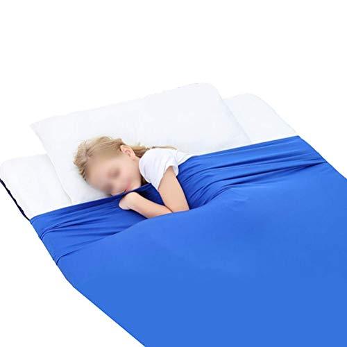 CHICTI Sensory Kompressionslaken Für Kinder Und Erwachsene Helfen Schlaf Entlasten Stress Decke Verbessern Fokus Autismus Sensorischen Verarbeitung Störung (Size : 69x132cm/27x52in)