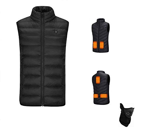 Decyam Electric Heated Vest for Men Women USB Rechargeable Heating Gilet...