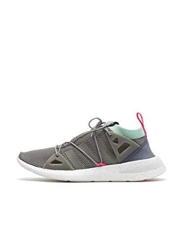 adidas Arkyn W, Zapatillas de Gimnasia para Mujer, 37 1/3 EU, Gris (Grey Three F17/Clear Mint/Shock Pink)