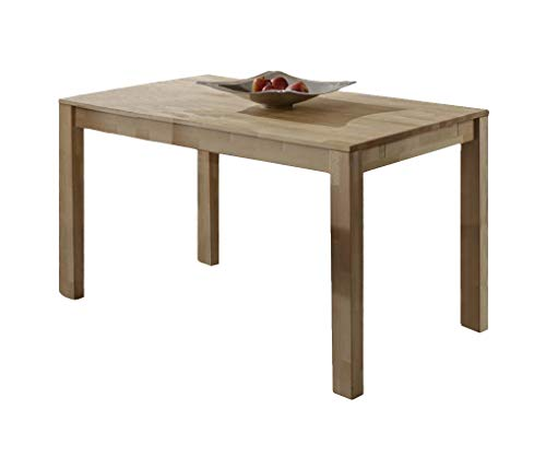 SAM Esszimmertisch 180x90 cm, Kernbuche massiv, Massivholz Tisch, Barni, Optionale Ansteckplatten