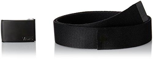 Vans Deppster II Web Belt Cintura, Nero (Black), Taglia Unica Uomo