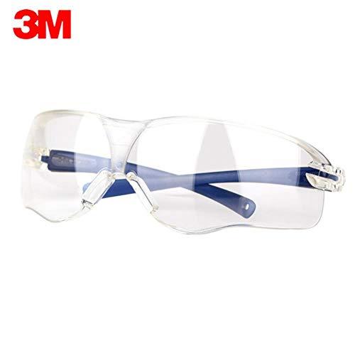 3M Beschermende veiligheidsbril Goggles Impact Weerstand Lens Brillen Anti-condens Krasbestendigheid UV-bescherming Goggles, 3M 10434