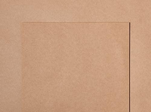 Papel kraft reciclado de alta calidad japonés, 120 g/m², 10 hojas