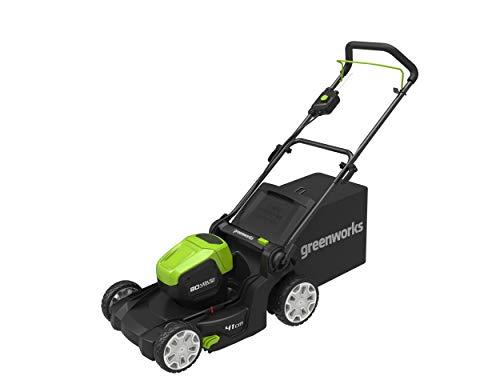 Greenworks Akku-Rasenmäher 80 V 2 Ah 55 l Mulcherfunktion bürstenloser Motor