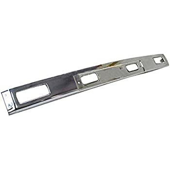 Painted Black Steel Center Bumper For 1984-1988 Toyota Pickup Front