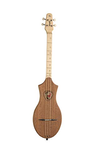 Gaviota Merlin G montaña dulcémele de madera de caoba