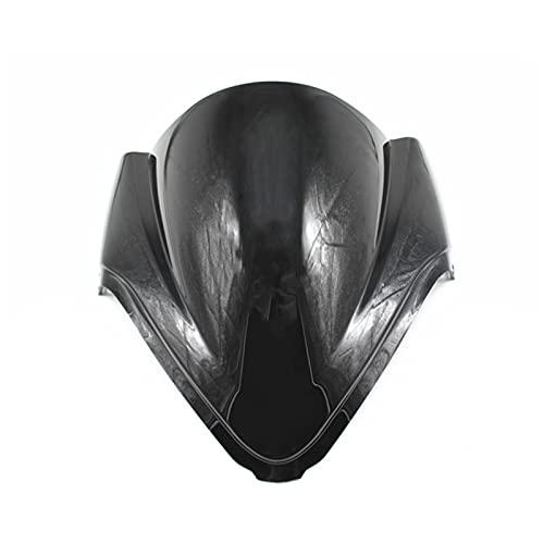 NERR YULUBAIHUO Motorcycle Windscreen Windshind Fit para Suzuki GSXR1300 GSXR 1300 Hayabusa 08 09 10 11 12 13 14 15 16 Motocross Motocrss Dirt Bike (Color : Black)