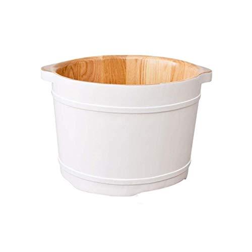 GXYFoot Bath Barrel Fußbadewanne,Holz Sauna Eimer,Hochwertiges Sauna Fußbecken,Innen Und Außen Hygieneversiegelung Fuß Badewanne