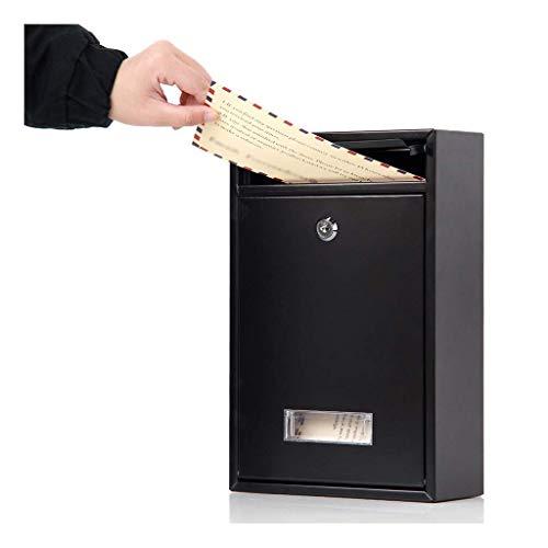 YANJ Xes Pared Caja de Seguridad montado en buzones con Cerradura de...