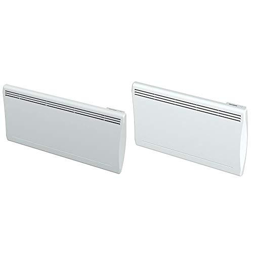 Cayenne 49705 Radiateur à inertie Céramique LCD 2000W, Blanc & 49699 Radiateur à inertie Céramique LCD 1500W, Blanc