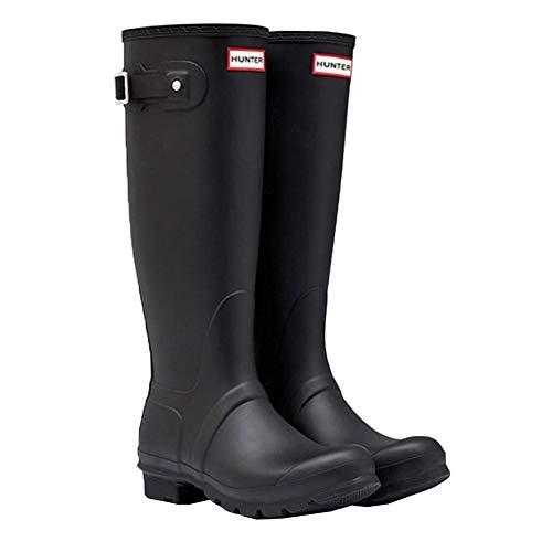 [ハンター] レインブーツ 長靴 ブーツ レディース WOMENS ORIGINAL TALL BOOT WFT1000RMA {ブラック UK5-24.0cm}(hnt002) [並行輸入品]