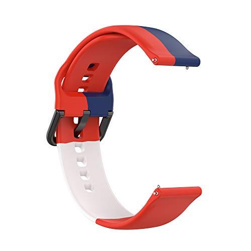 Correas de Reloj,3 Colores Correa para Fitbit Versa 2,Bandas Correa Repuesto,Flexible Silicona Reloj Recambio Brazalete Watch Correa Repuesto para Fitbit Versa 2/Versa /Versa lite/Blaze (color 8)