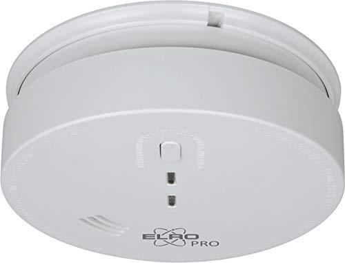 ELRO PRO SENSUS 230 Verdrahtet vernetzbarer Rauchwarnmelder - mit 5 Jahres Back-Up Batterie - 230V