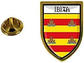Akachafactory Pin aansteker, aansteker, stad vlag, Ibiza Spanje