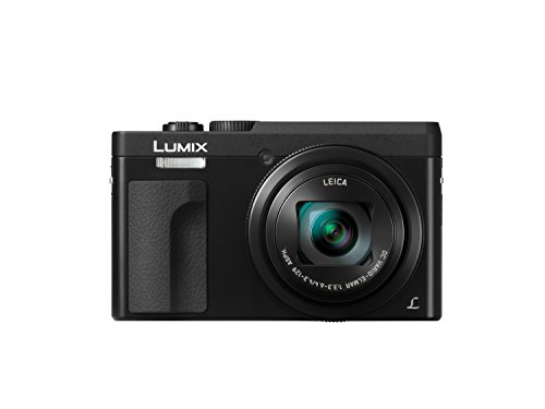 Panasonic Lumix DC-TZ90 - Cámara Compacta de 20,3 MP (Super Zoom, 10fps, Objetivo F3.3-F6.4 de 24-720mm, Zoom de 30X, Pantalla Abatible, 4K, Wifi, RAW), Color Negro