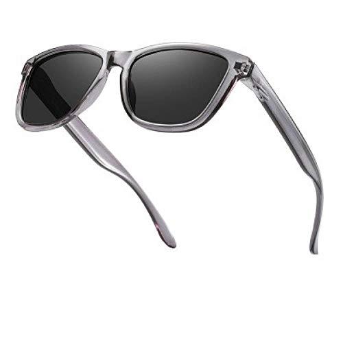 FRGH Gafas De Sol Hombres Mujeres Gafas De Sol Cuadradas Lente Negra Gafas De Sol De Conducción Al Aire Libre Uv400