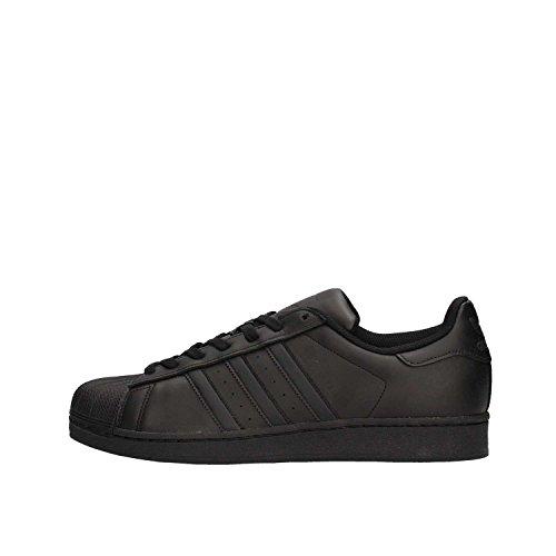Adidas Originals Superstar Foundation, Baskets Basses homme, Noir (Core Black/Core Black/Core Black), 43 1/3 EU (9 UK)