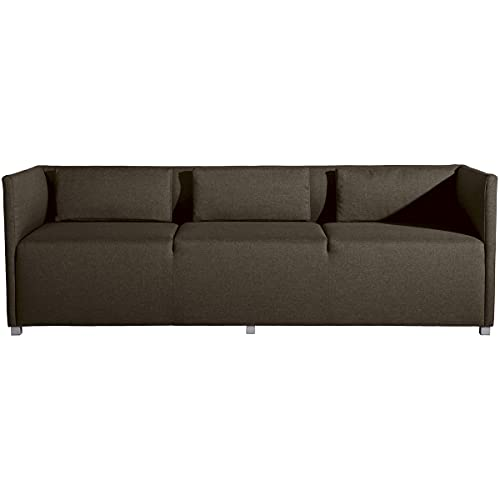 Max Winzer Sofa 3-Sitzer Equal Flachgewebe Sahara