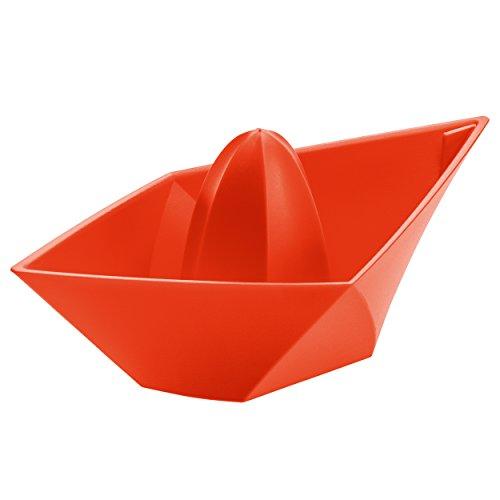 Koziol Spremiagrumi AHOI, in plastica, Plastica, Arancione/Rosso, 100x200x83 cm
