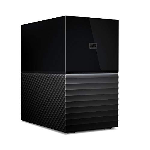 WESTERNDIGITAL デスクトップHDD 36TB USB3.1 Gen 1 暗号化 RAID 0,1 バックアップ My Book Duo / WDBFBE0360JBK-JESE 3年保証