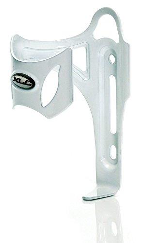 XLC Unisex– Erwachsene Zubehör Trinkflaschenhalter Sidecage deluxe BC-S02, Weiß, One Size