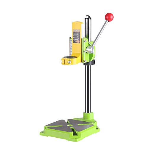 LONGJUAN-C tools High Precision Electric Power Drill Press Stand Table Rotary Tool Workstation Drill Workbench Repair Tools Clamp Work Station with 0-90 Degree Rotating Fixed Frame for Drilling Collet