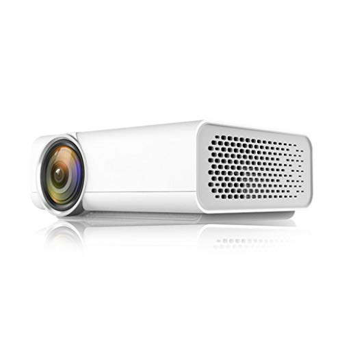ZSP Proyector Mini proyector - LED proyector de vídeo al Aire Libre del proyector de película portátil de Cine en casa proyector Compatible con TV Stick, PS4, HDMI, VGA, AV y USB Mini proyector