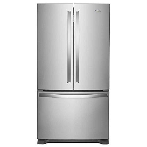 'Whirlpool 36' Fingerprint Resistant Stainless Steel French Door Counter Depth Refrigerator'