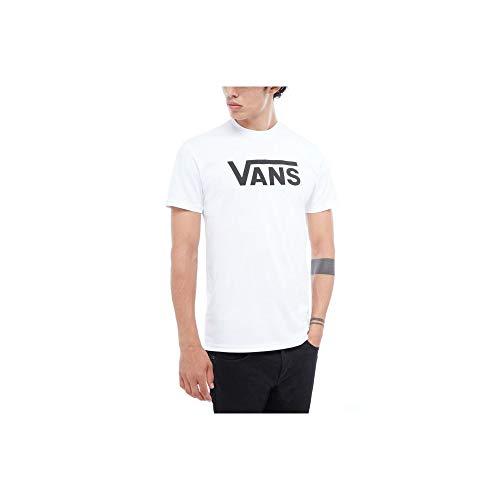 Camiseta Vans Algodão 5 White-Black