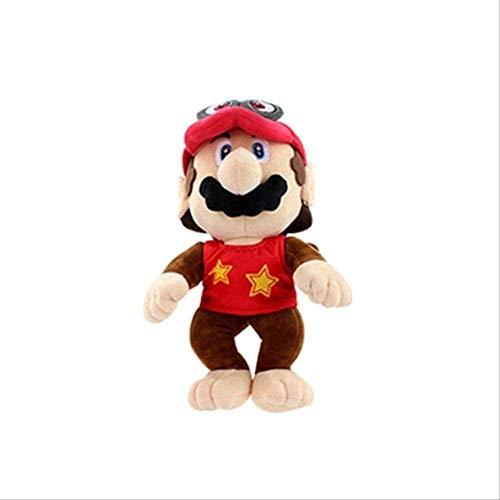 Super Mario Odyssey Brautkleid Luigi Prinzessin Pfirsich 3D Land Knochen Kuba Dragon Dark Bowser Koopa Spielzeug Spielzeug-30cm