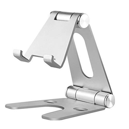 Huante - Soporte giratorio de aleación de aluminio para tablet Air 1/2 1/2/3/4 Pro 9.7 10.5 12.9 plegable soporte de teléfono móvil