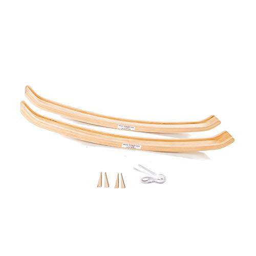 Köglis Allround Swing das Schaukelding Sp550mm - Untergestell aus Holz für - Schaukelpferd - Schaukelstuhl - Babywippe - Schaukelsessel - beugt gezielt Schreibabys vor - bis 250KG belastbar