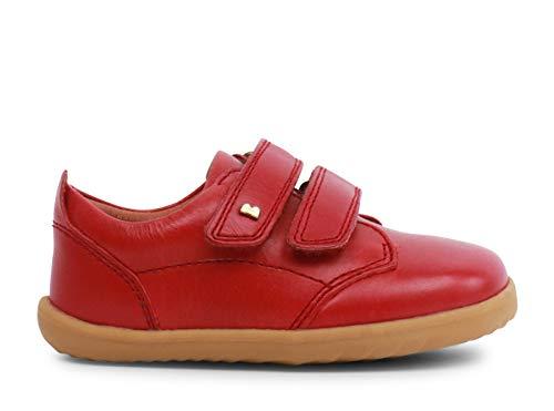 Bobux Step Up Port Dress Shoe_Primeros Pasos - Una Zapatilla Deportiva en Piel de Suela Flexible. Ideal para Todas Las situaciones del Otoño-Invierno (Rio Red, Numeric_22)