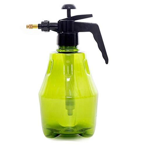 iFCOW Botella de mano de plástico con pulverizador de mano para jardín de 2 l