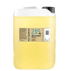 Olio di Mandorle dolci, naturale al 100%, raffinato e inodore. Paese di origine: UE. Usato nel massaggio, aromaterapia, pelle, capelli, come detergente per il viso o come struccante. Ricco di vitamine e acidi grassi essenziali. L'olio di Mandorle dol...