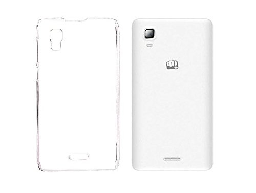 RKA Crystal Clear Transparent Hard TPU Case Cover for Micromax A102 Canvas Doodle 3