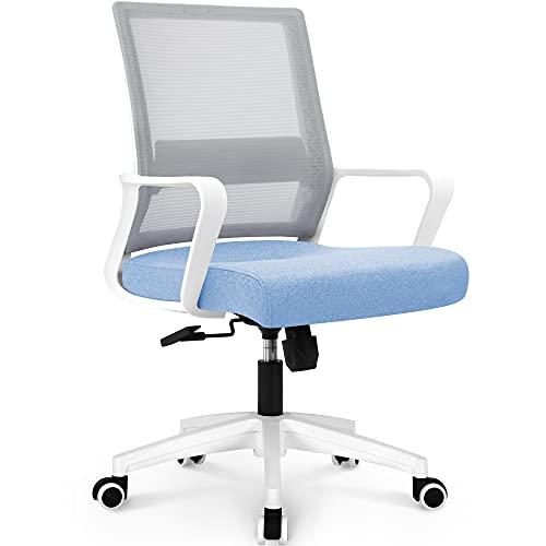 NEO CHAIR Office Swivel Desk Ergonomic mesh Adjustable Lumbar...