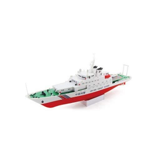 Lihgfw Spielzeug Boot Kinder Rennboot Wasser Speedboat Boot 2 Jahre alt Baby Airship Boat Electric Boat Modell Spielzeug KANN Kinder SPIELZIEREN Motor BIREBENDEN Geschenk Weiss 39 cm (Color : Weiß)