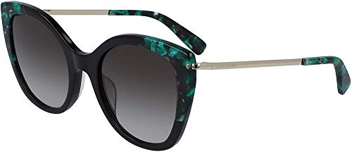 Longchamp Damen Lo636s Sonnenbrille, Black, Standard