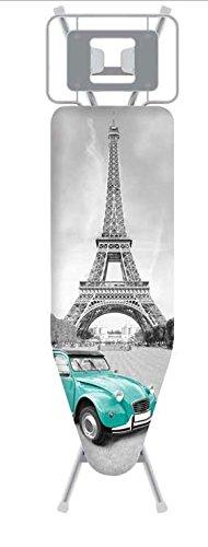W-PRO - HOUSSE TABLE A REPASSER DESIGN PARIS 122 X 42 CM