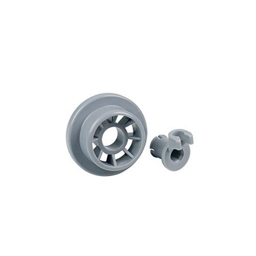 Europart 10027230 Korbrolle Rad für Unterkorb Spülmaschine Geschirrspüler wie Bosch Siemens 165314 00165314 auch Balay Constructa Gaggenau Neff Küppersbusch 426483 ATAG Gorenje Hotpoint Pitsos Profilo