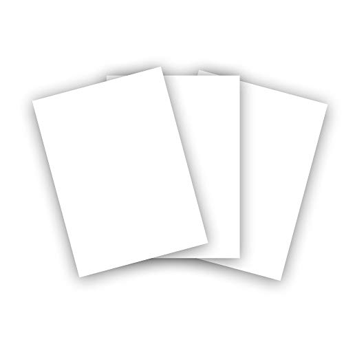 Premium Cougar Smooth 130# Cover 8.5' x 11' Cardstock - Heavyweight 350 GSM Card Stock - 100 Sheets - Made in The U.S.A.