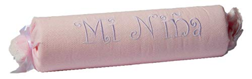 Coussin de soutien pour enfant forme de caramel. Couleur rose