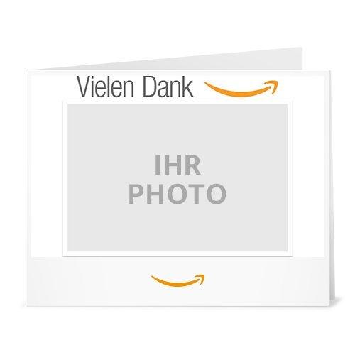 Amazon.de Gutschein zum Drucken mit eigenem Foto (Vielen Dank)