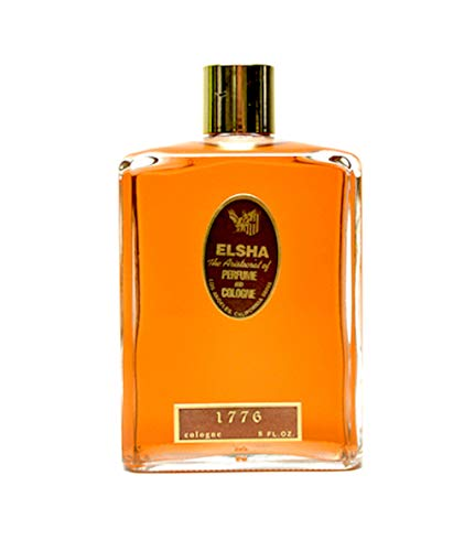 ELSHA Aristocrat Cologne and Perfume 1776 - Original Manufacturer - Long Lasting Scented Cologne Manufactured in The USA – Large 8 Ounce Bottle