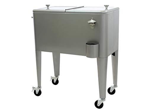 Kailua Cooler - Kühlbox, Kühlwagen, Getränkekühler, Grau